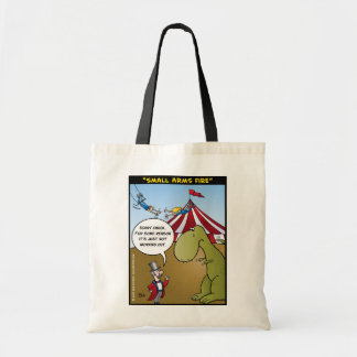 """""""Small Arms Fire"""" Tote Bag"""
