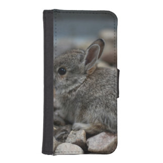 SMALL BABY BUNNY WALLET PHONE CASE FOR iPhone SE/5/5s