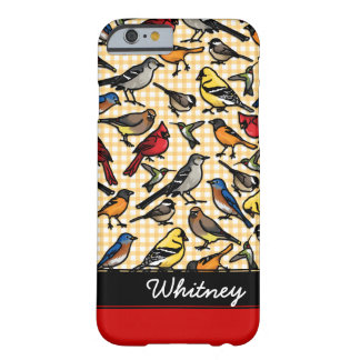 Small Backyard Birds, Add Your Name Barely There iPhone 6 Case