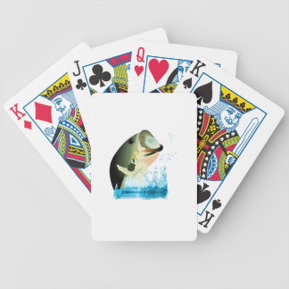 SMALL BASS FISH BICYCLE PLAYING CARDS