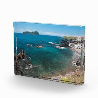 Small bay and islet acrylic award