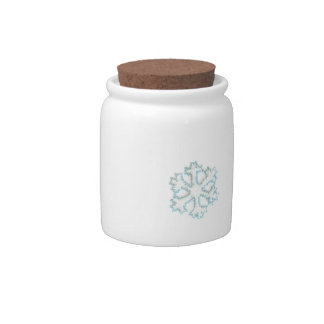 Small Bead Snowflake to Add to Your Photos Candy Jars