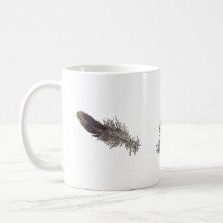 Small Bird Feathers Mug