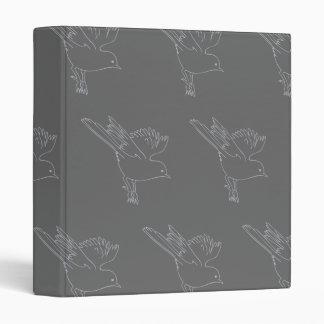 Small Bird grey Binders