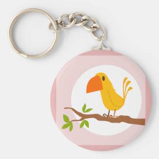 small bird key chains