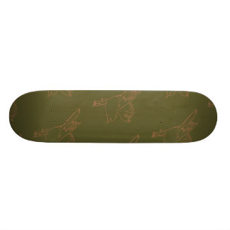 Small Bird natural color Skate Boards