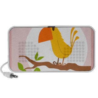 small bird travelling speaker