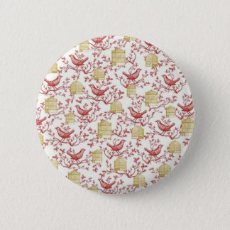Small birds and Cages Button