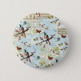 Small birds and music button