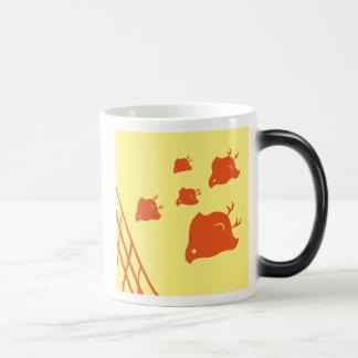 Small birds magic mug