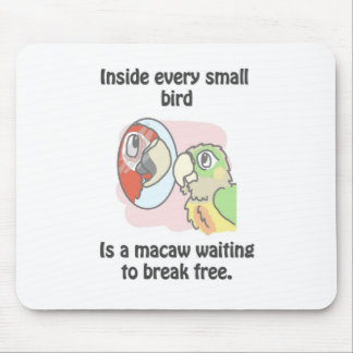 Small birds mouse pad