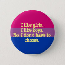 small bisexual flag pride badge/pin button