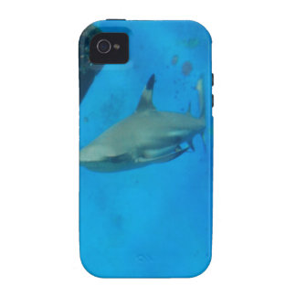 Small Black Tipped Shark Case-Mate iPhone 4 Cases