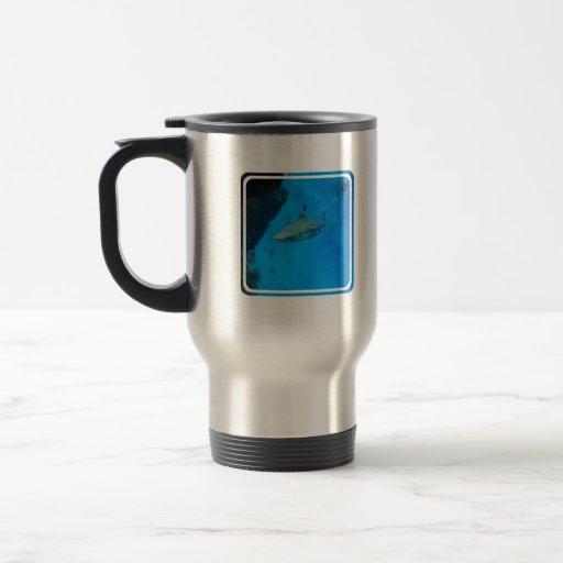 Small Black Tipped Shark Coffee Mug