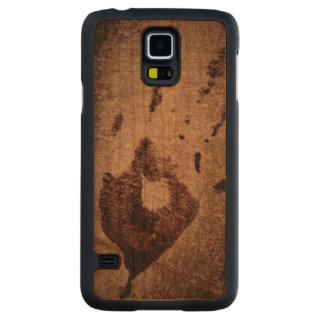 Small Bloody Hand Print at Crime Scene Carved® Cherry Galaxy S5 Slim Case