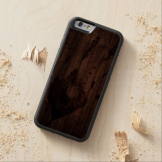 Small Bloody Hand Print at Crime Scene Carved Walnut iPhone 6 Bumper Case