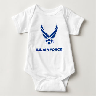 Small Blue Air Force Logo with Outline Shirt