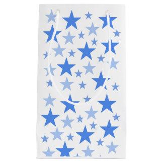 Small Blue Stars gift bag