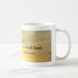 Small Boat Classic White Coffee Mug