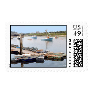 Small Boats at the Dock Stamps