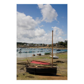 Small Boats | Ploumanac'H, France Poster