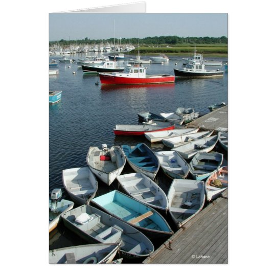 Small boats--thank you card