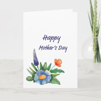 Small Bouquet Mother's Day Card