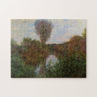 Small Branch of the Seine Monet Fine Art Puzzle