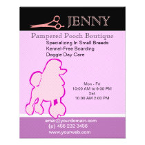 Small Breeds Kennel Doggie Day Care Flyer