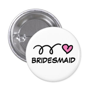 Small bridesmaid buttons
