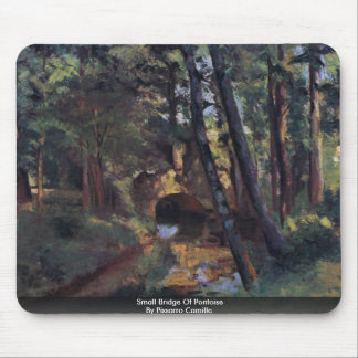 Small Bridge Of Pontoise By Pissarro Camille Mouse Pad
