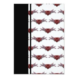 Small Broken Hearts Broken Wings Transparent Alter Card