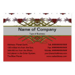 Small Broken Hearts Broken Wings Transparent Large Business Cards (Pack Of 100)