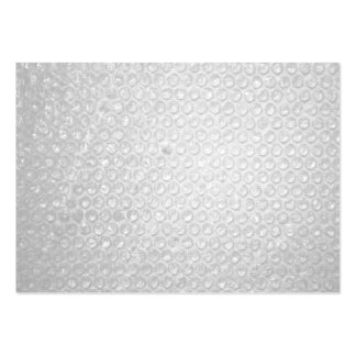 Small Bubble Wrap Texture Large Business Cards (Pack Of 100)