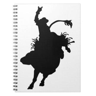 Small Bull Rider Note Book