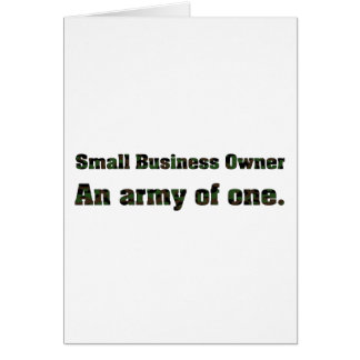 Small Business Army 2 Card