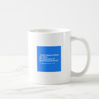 Small Business Gift -Small Opportunity Achievement Coffee Mug