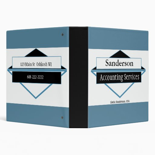 Small Business Manual 3 Ring Binders