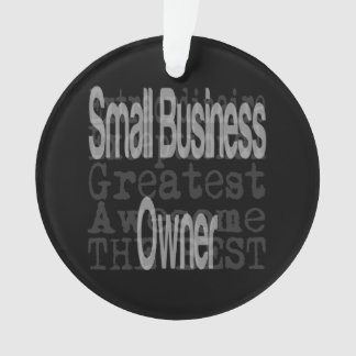 Small Business Owner Extraordinaire Ornament