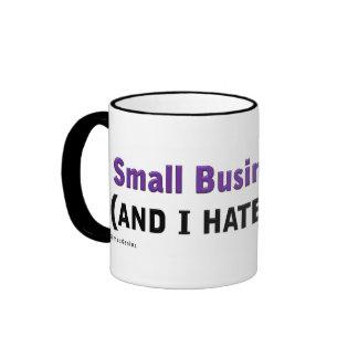 Small Business Owner (Hate My Boss) Ringer Mug