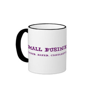 Small Business Owners Do Everything Ringer Coffee Mug