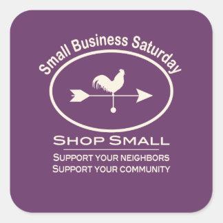 Small Business Saturday - cream Stickers
