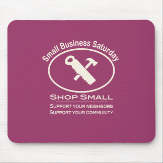 Small Business Saturday Hardware (white) Mouse Pad