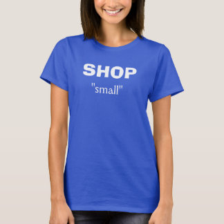 Small Business Saturday tee