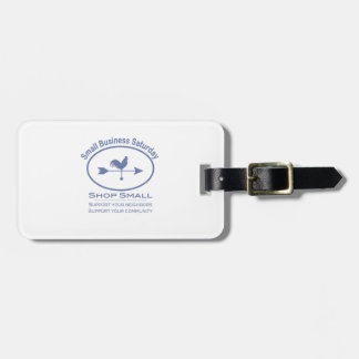 Small Business Saturday Weather vane Bag Tag