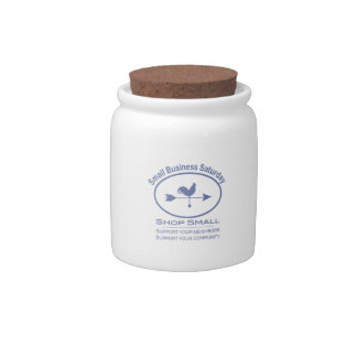 Small Business Saturday Weather vane Candy Jars