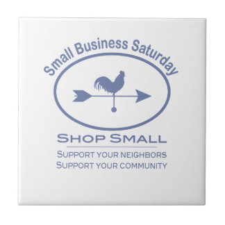 Small Business Saturday Weather vane Tile