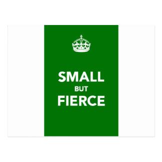 Small But Fierce Postcard