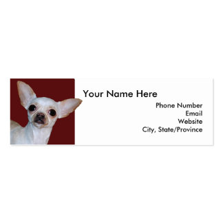 Small but Mighty - Calling Card Business Card Template