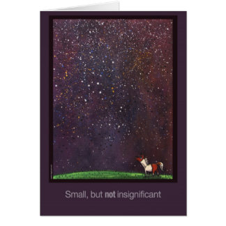 Small but NOT Insignificant Card